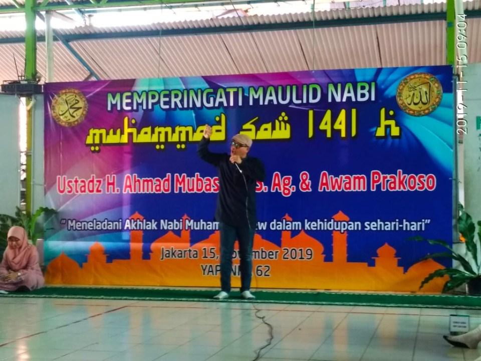 Acara Maulid Nabi Muhammad SAW 1441 h di SD Yapenka